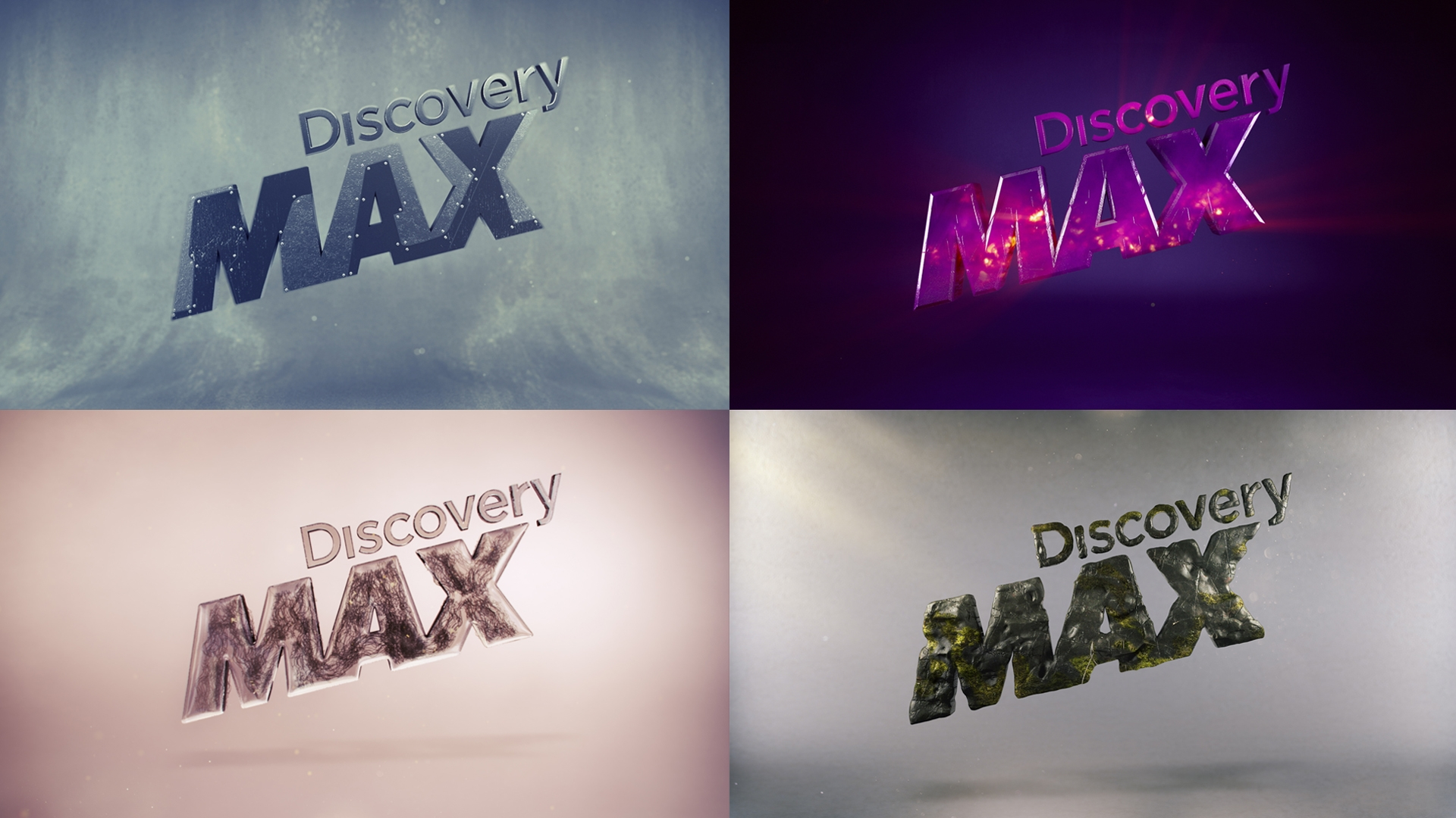 DMAX  Teasers - Ids Launch Campaign