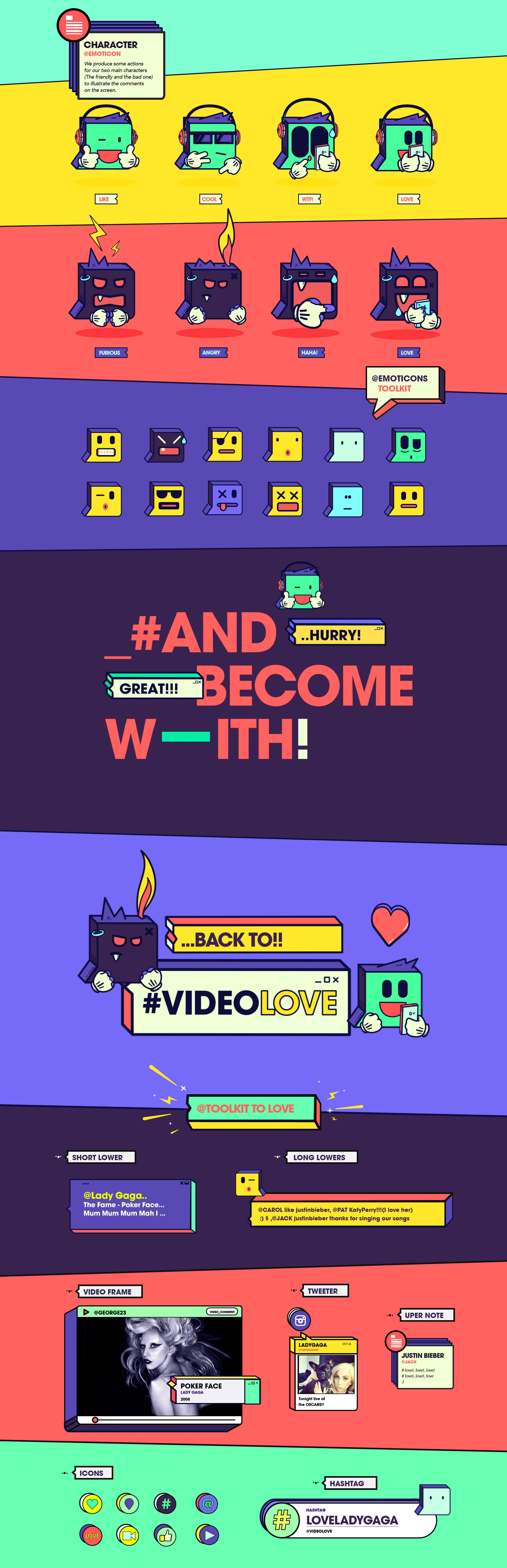 MTV Video Love - Graphic Pack